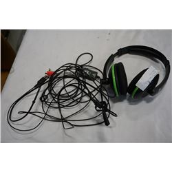 TURTLE BEACH XL1 GAMING HEADPHONES W/ MIC