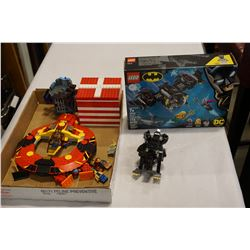 LEGO SETS AND FIGURES AND UNOPENED BATMAN LEGO