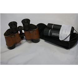 BUSHNELL BINOCULARS AND BAUSCH AND LOMB VINTAGE BINOCULARS