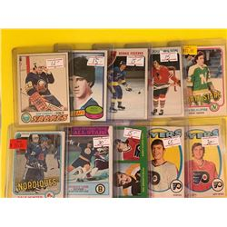 VINTAGE OPEECHEE LOT OF STAR AND ROOKIE CARDS