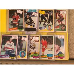 HOCKEY STAR PLAYER AND ROOKIE CARD COLLECTION