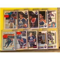 LOT OF ENDMONTON OILERS STAR AND ROOKIE CARDS