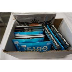 BOX OF NEW GUITAR STRINGS - RETAIL $200