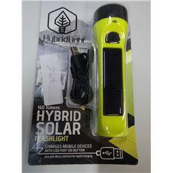 Hybrid solar light
