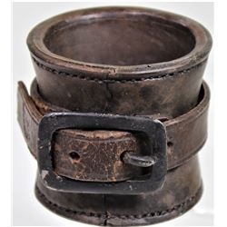 Leather Model 1859 carbine socket marked E. Metzger Phila in very good unissued condition.E. Metzger