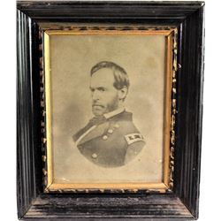 "Original period framed lithograph of Major General Ulysses S. Grant, image 7 1/4"" X 9 1/2"".General U"