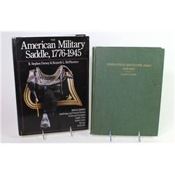 Collection of 2 books includes Springfield Shoulder Arms 1795-1865 and The American Military Saddle