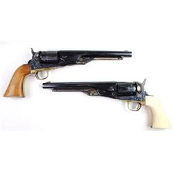 Collection of 2 Uberti black powder pistols both .44 caliber and good functioning condition.both .44