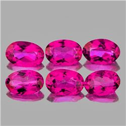 Natural  Hot Pink Topaz Natural 6x4 MM{Flawless-VVS1}