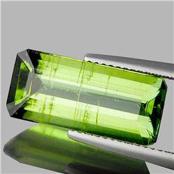 Natural Canary Green Apatite 6.38 Cts - VS