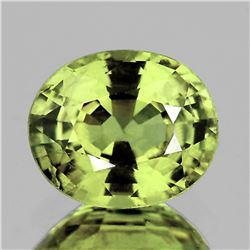 Natural Top Greenish Yellow Sapphire VVS