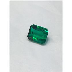 Natural Vivid Green Columbian Emerald 3.49 Ct - VVS