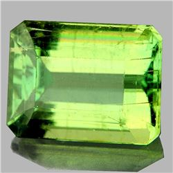 Natural Canary Green Apatite 5.13 Cts - VVS
