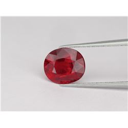 Natural Pigeon Blood Red / Vivid Red Ruby 1.54 Ct