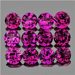 NATURAL PURPLE RHODOLITE GARNET [FLAWLESS-VVS]