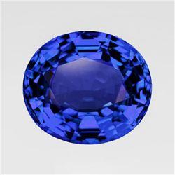 Natural Kashmir Blue Sapphire 1.17 Cts - VVS
