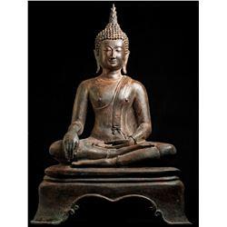 Antique Shakyamuni Buddha Statue