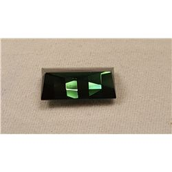 BEAUTIFUL FOREST GREEN  4.32 CT UNHEATEDTOURMALINE
