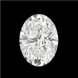 SPARKLING 7.54 CT OVAL CUT DIAMOND