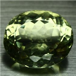 BEAUTIFUL RARE VVS1 CERTIFIED GREEN AMETHYST