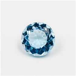 BREATHTAKING 7.03 CT SWISS BLUE TOPAZ
