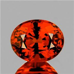 NATURAL ORANGE SPESSARTINE GARNET 6.5x5 MM - FL