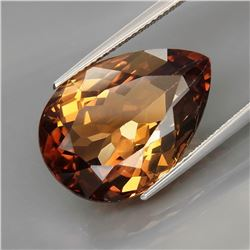 Natural Imperial Champagne Topaz 23.41 Ct