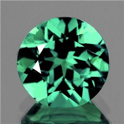 Natural  Green Apatite 7.00 MM - VVS
