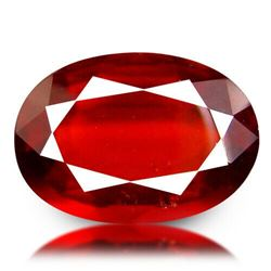 Natural UNHEATED AAA HESSONITE GARNET  7.03 Cts