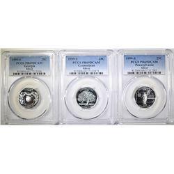 1999-S SILVER STATE QUARTERS PCGS PR-69 DCAM