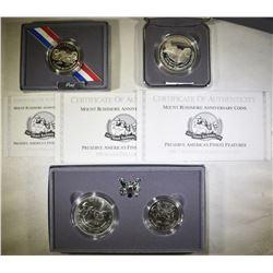 1991 MOUNT RUSHMORE COMMEM COINS