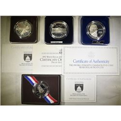 LOT OF 4 COMMEMORATIVE COINS