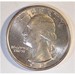1935-S WASHINGTON QUARTER  BU