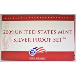 2009 SILVER PROOF SET IN ORIG PACKAGING