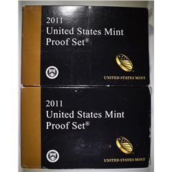 2-2011 U.S PROOF SETS