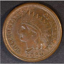 1864 INDIAN CENT  GEM UNC BR