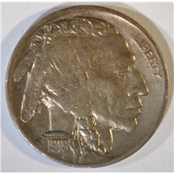 1919-D BUFFALO NICKEL  UNC  OLD CLEANING