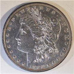 1900 MORGAN DOLLAR  CH/GEM BU  PL