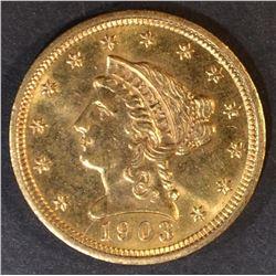 1903 $2.5 GOLD LIBERTY  CH/GEM BU