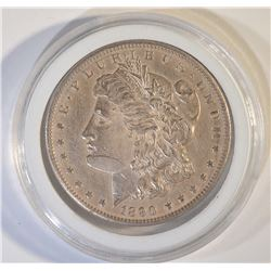 1890-CC MORGAN DOLLAR  BU ORIGINAL TONE