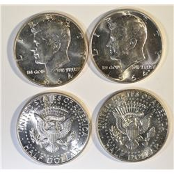 1964 BU ROLL OF KENNEDY HALVES