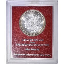 1892-CC MORGAN DOLLAR REDFIELD COLLECTION