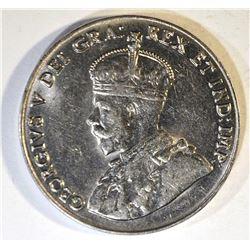 1928 CANADA 5-CENTS, BU