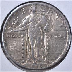 1919 STANDING LIBERTY QUARTER, AU