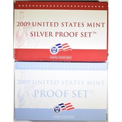 2009 CLAD & SILVER U.S. PROOF SETS
