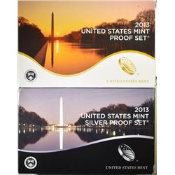 2013 CLAD & SILVER U.S. PROOF SETS