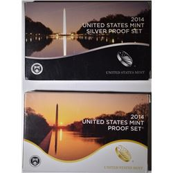 2014 CLAD & SILVER U.S. PROOF SETS