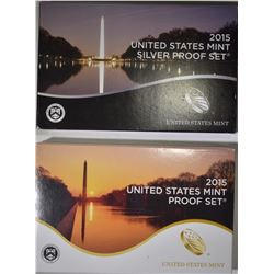 2015 CLAD & SILVER U.S. PROOF SETS