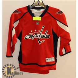 REEBOK WASHINGTON CAPITALS 4-7 KIDS JERSEY