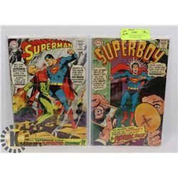 SPIDERMAN #205 SUPERBOY #145 COLLECTORS COMIC BOOK